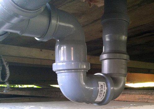 Гидрозатвор канализации своими руками 304